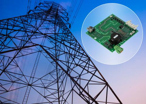 Gate driver is plug-and-play with 4500V IGBT power modules