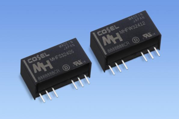 3W 3kV DC-DC converter for medical and industrial