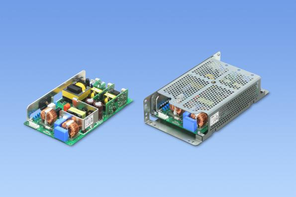 300W AC-DC converter with triple isolated outputs for robotics and factory automation