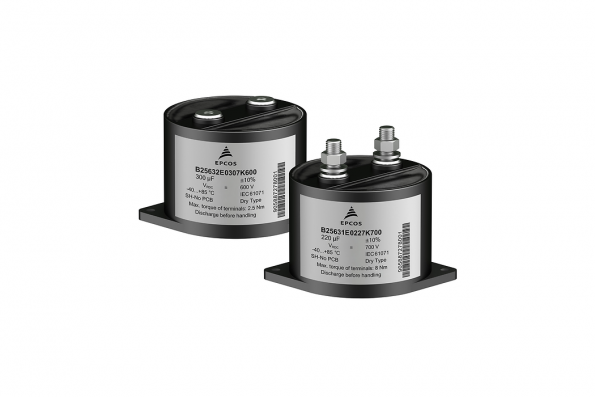 DC link capacitor has 13nH ESL for fast switching