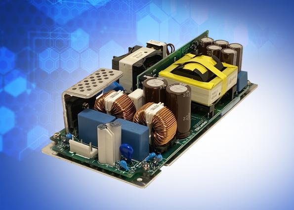 350W convection cooled medical AC-DC power supply has 1kW peak